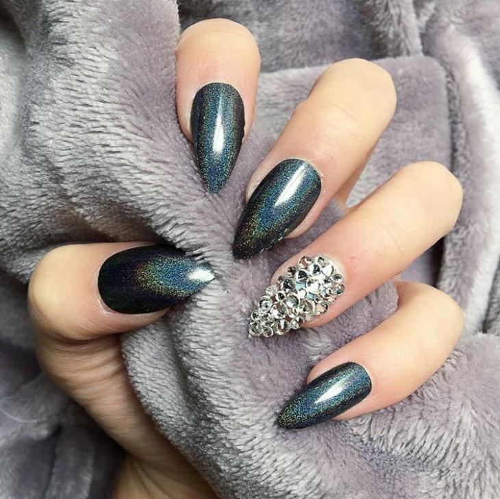 Best ideas Glitter Nail Art-1-24beautytutorial.com