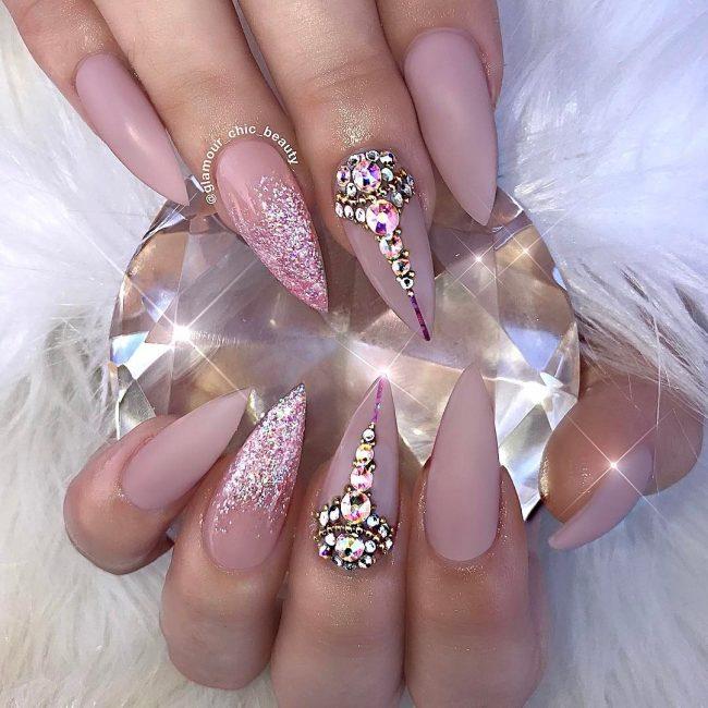 Best ideas Glitter Nail Art-2-24beautytutorial.com