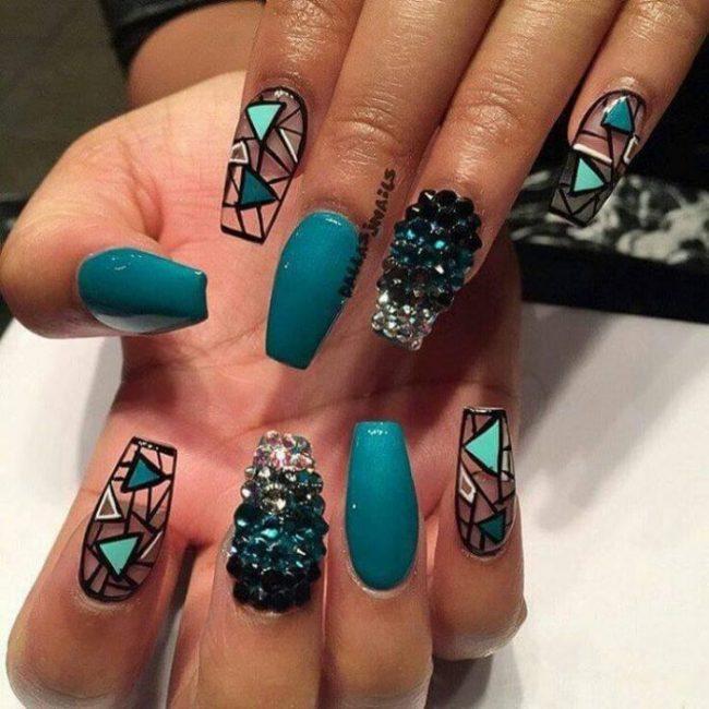 Best ideas Glitter Nail Art-4-24beautytutorial.com