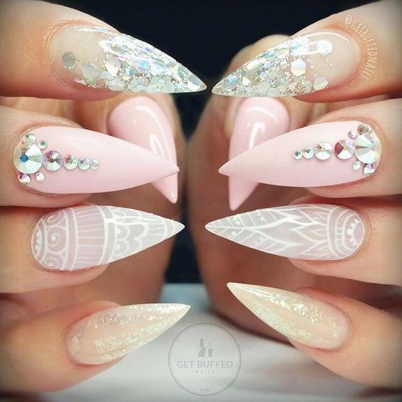 Best ideas Glitter Nail Art-17-24beautytutorial.com