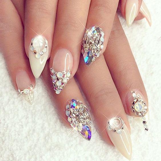 Best ideas Glitter Nail Art-20-24beautytutorial.com