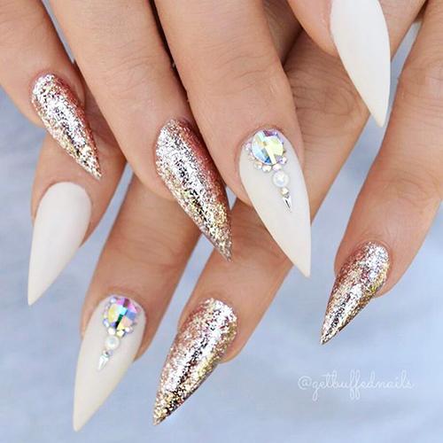 Best ideas Glitter Nail Art-21-24beautytutorial.com