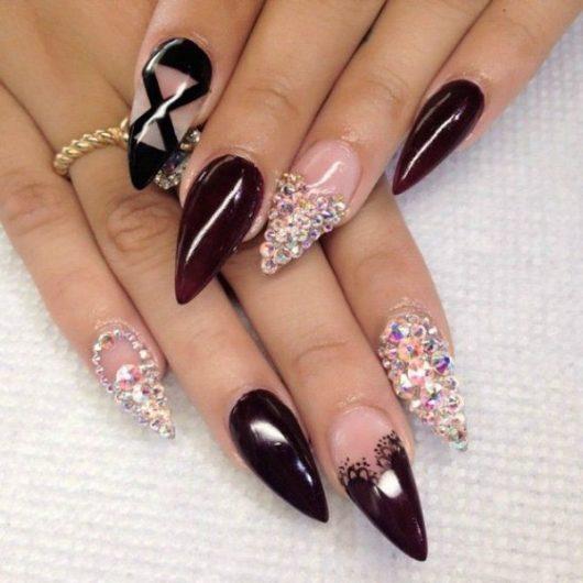 Best ideas Glitter Nail Art-222-24beautytutorial.com