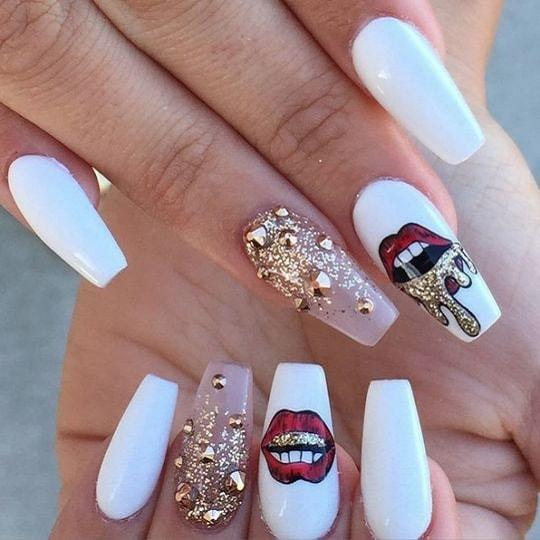 Best ideas Glitter Nail Art-25-24beautytutorial.com