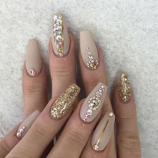 Best ideas Glitter Nail Art-27-8-24beautytutorial.com