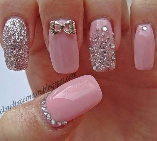 Best ideas Glitter Nail Art-30-8-24beautytutorial.com