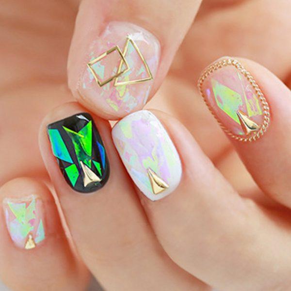 Best ideas Glitter Nail Art-8-24beautytutorial.com