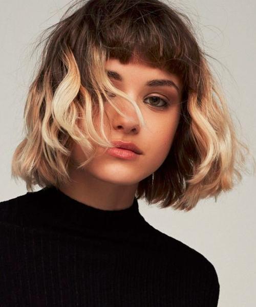 Chic Chin Length Bob Layered Haircuts 2018-8-24beautytutorial.com