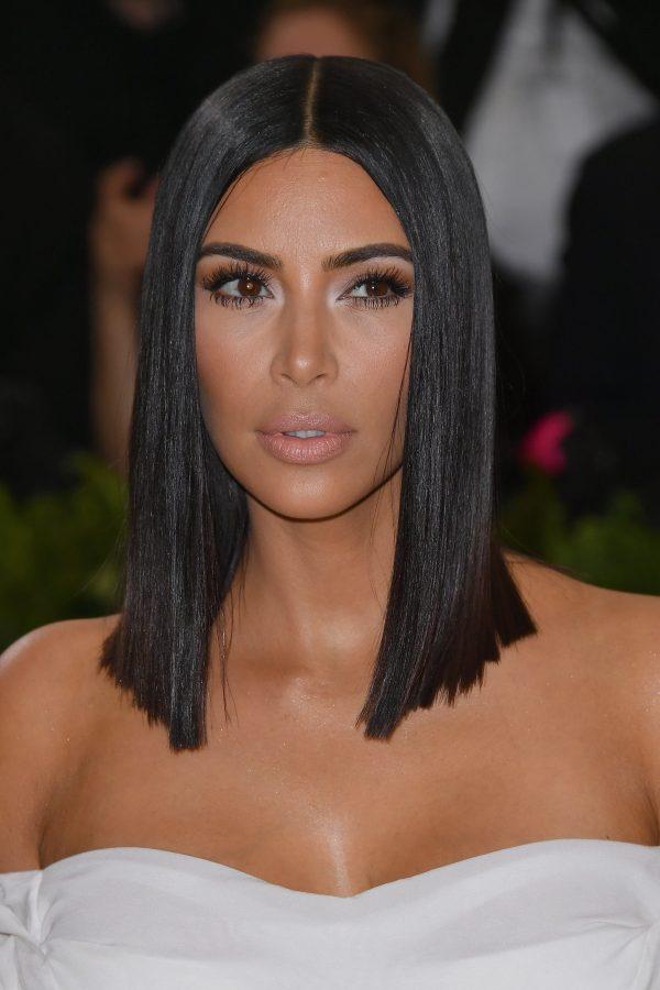 kim kardashian short hair 2018-24beautytutorial.com