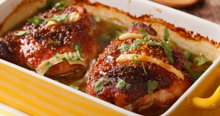 Honey-Garlic  Chicken Thighs-24beautytutorial.com