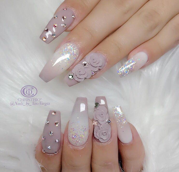 Crystals Nails-8-24beautytutorial.com
