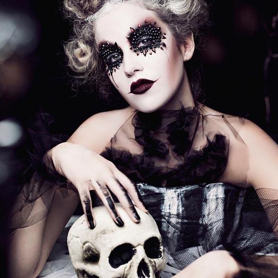 pretty halloween makeup ideas-7 - 24beautytutorial.com