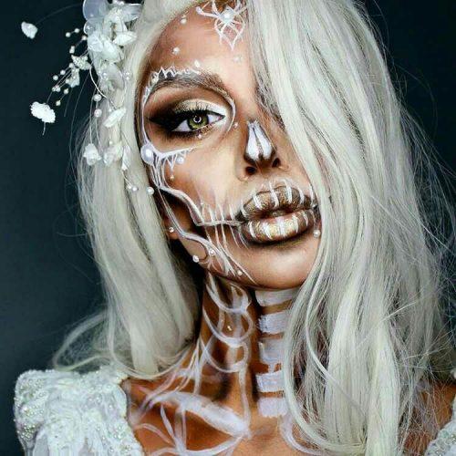 pretty halloween makeup ideas-20 - 24beautytutorial.com