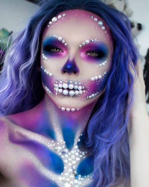 pretty halloween makeup ideas-50- 24beautytutorial.com