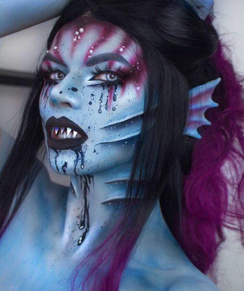 pretty halloween makeup ideas-52- 24beautytutorial.com